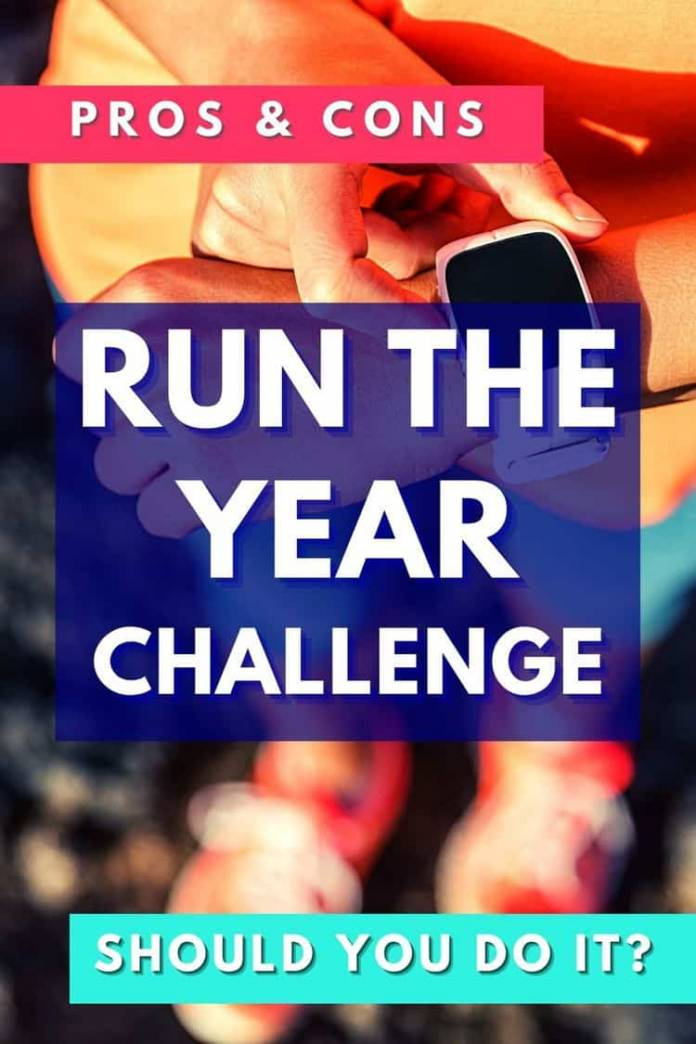 Run the Year Challenge pros and cons