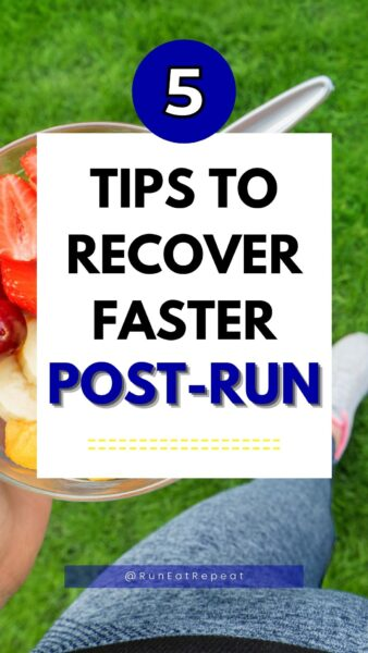 what to do after a run recovery tips
