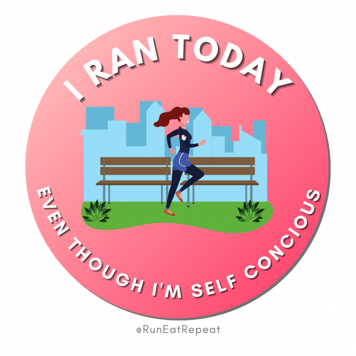 Funny Running Badge I Ran Today Even Though I